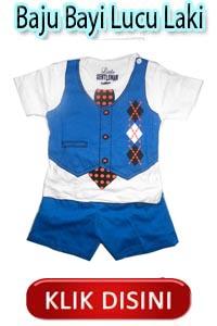 Baju Bayi Lucu Laki