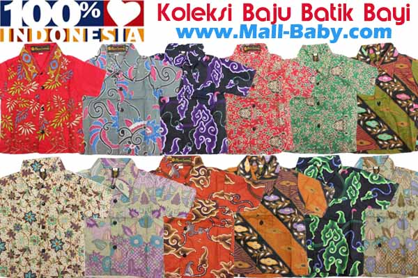 Tips Membeli Baju Batik Untuk Bayi